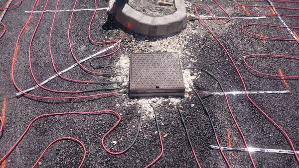 Câble auto régulant pour déneigement des voies d'accés