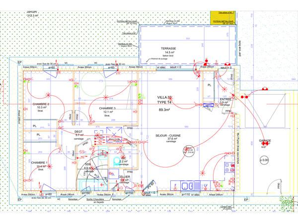 travaux lectriques pour maisons et villas en rhone alpes cazeaux electricit. Black Bedroom Furniture Sets. Home Design Ideas