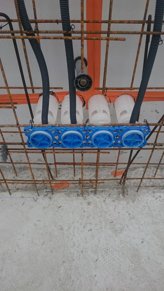 Incorporation des équipements électriques