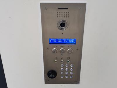 Installation interphonie